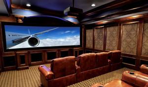 美式风格奢华家庭影院装修效果图