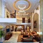 2016精美的欧式二层别墅装修效果图实例