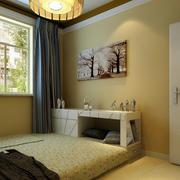 现代小户型榻榻米卧室装修效果图