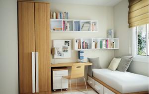宜家90平米家居书房榻榻米装修效果图