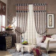 新古典风格别墅小卧室窗帘效果图