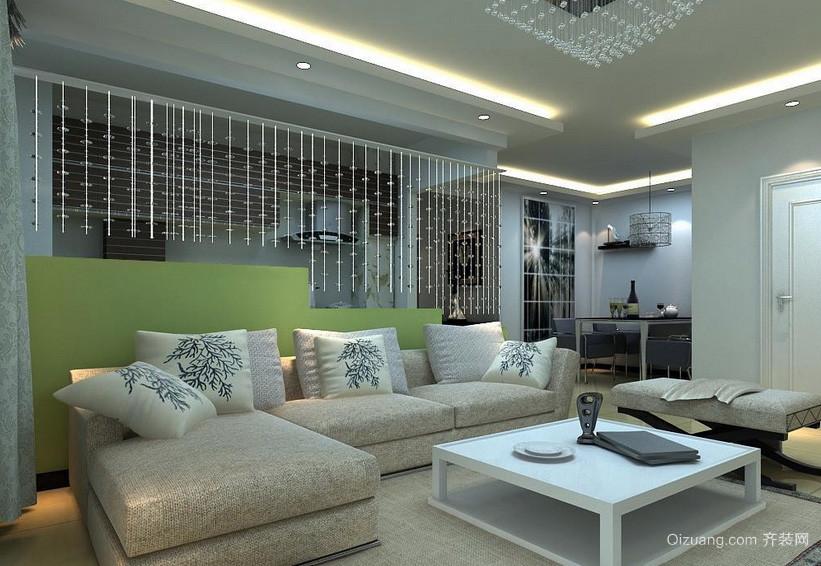 时尚单身公寓现代简约家装客厅图片