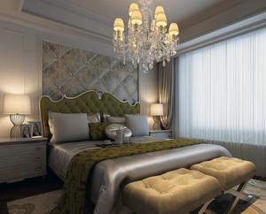 2016小户型欧式卧室软包背景墙装修效