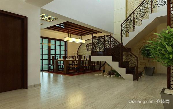120平米大户型欧式经典的楼梯装修效果图鉴赏