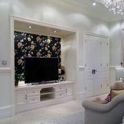现代室内电视墙设计