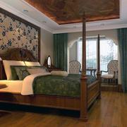 唯美的卧室飘窗设计