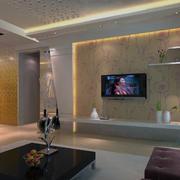 现代室内背景墙模板
