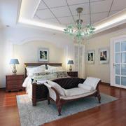 现代卧室吊顶整体设计