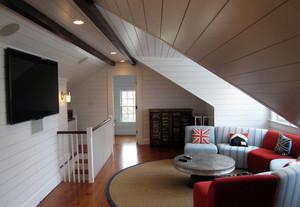 小复式楼斜顶阁楼厨房装修设计 效果 图