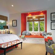现代卧室整体造型图