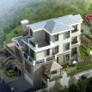 2016现代欧式农村小别墅设计装修效果图