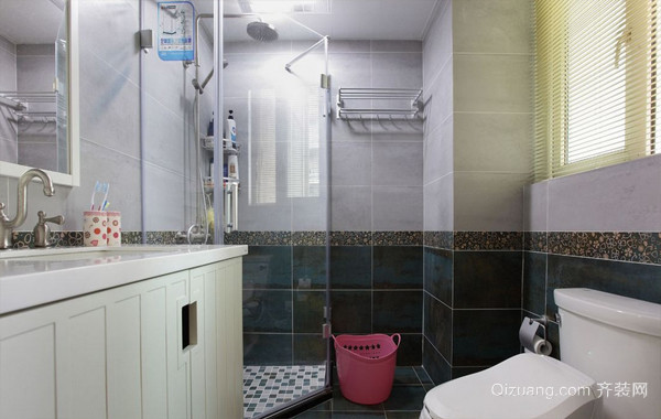 现代宜家6平米小卫生间装修效果图