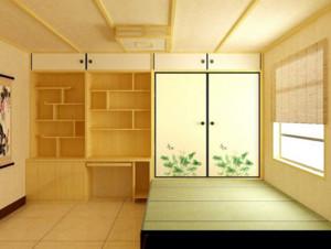 60平米小户型日式风格榻榻米装修效果图