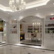 现代大户型经典的欧式酒柜装修效果图鉴赏