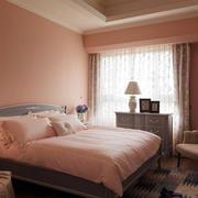 新房粉色卧室装饰
