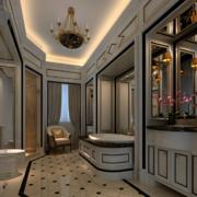 2016大户型现代室内欧式卫生间装修效果图