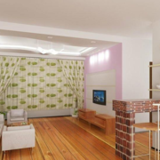 现代欧式大户型精致的室内吧台装修效果图