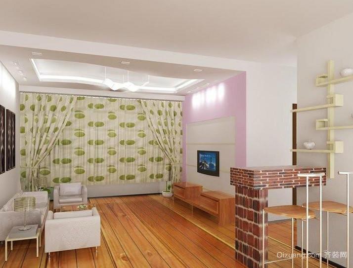 大户型欧式精美客厅吊顶装修效果图