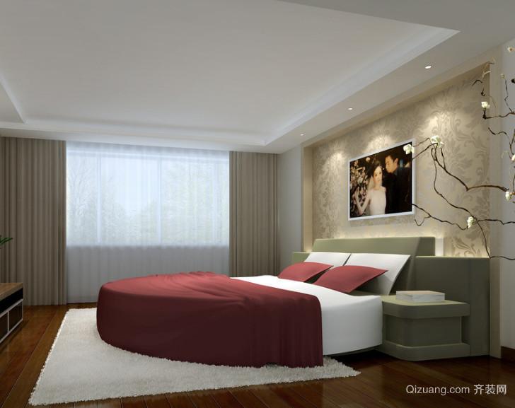 21世纪唯美的欧式单身公寓卧室装修效果图