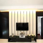 黑白电视背景墙设计