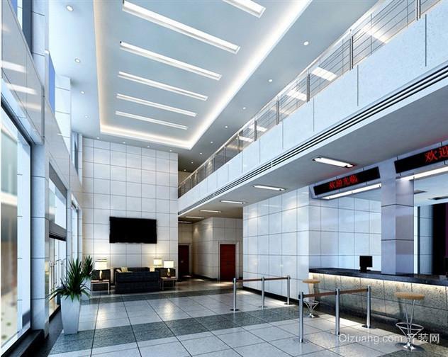 2016现代化的银行大厅装修设计效果图