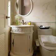 新房卫生间优雅洗手台