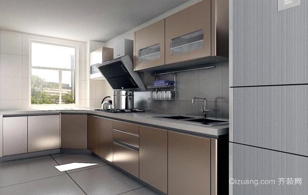 2016精致现代化厨房厨柜装修效果图