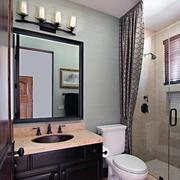精美的卫生间背景墙图