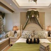 小户型卧室床幔欣赏