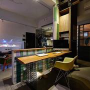 新房开放式小书房书桌