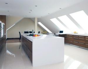 2016现代大户型欧式室内斜顶阁楼装修效果图
