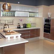 开放式厨房厨柜欣赏