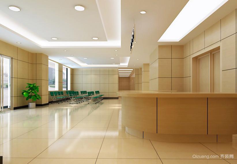 城市中的现代大医院大厅装修设计效果图