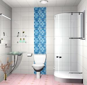 简约84平米公寓小卫生间装修效果图