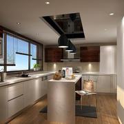 都市现代化厨房厨柜