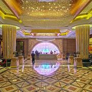 奢华大型酒店大厅装修设计效果图