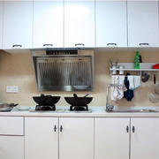 厨房白色简约厨柜