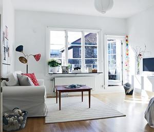 2016精致欧式单身公寓装饰客厅装修效果图