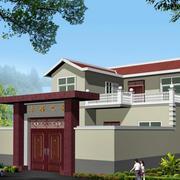 新中式风格乡村住宅