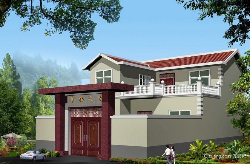 2016 新 农村 自建小别墅 住宅 设计图 装修