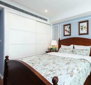 轻美式两室两厅室内装潢设计效果图