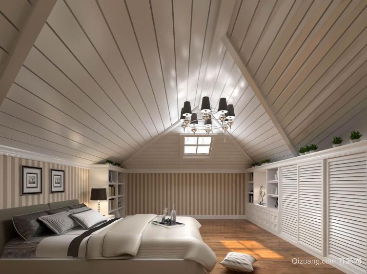 60平米小户型欧式现代阁楼装修效果图大全