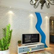 白色文化砖电视墙欣赏
