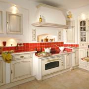 120平米大户型欧式家庭厨房装修效果图实例
