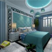 2016小户型欧式卧室软包背景墙装修效果图