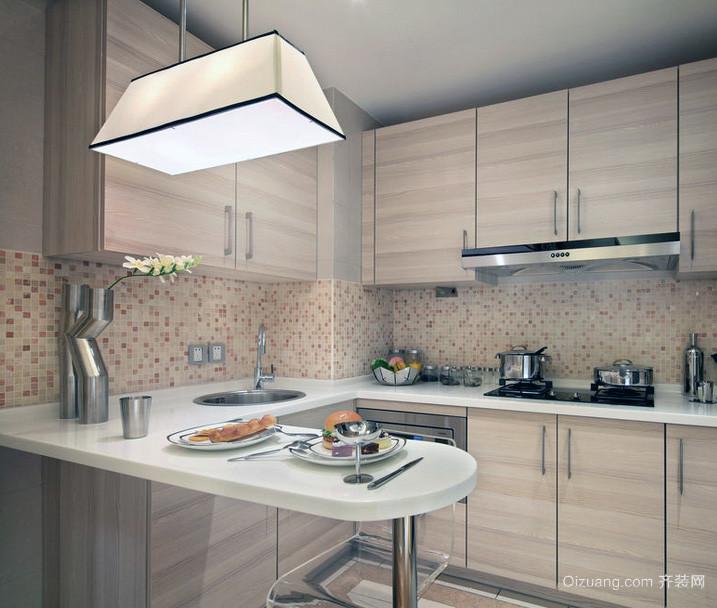 2016精致的欧式小户型小厨房设计 装修效果 图高清图片