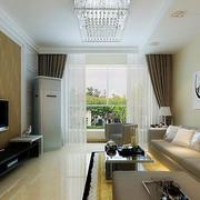 温馨浅色调的客厅