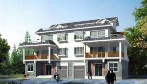 现代自然新农村住宅设计装修图