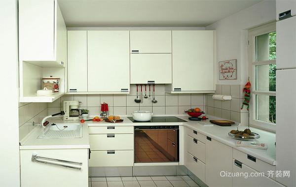 2016精致的欧式小户型小厨房设计装修效果图