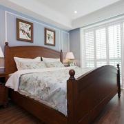 室内现代美式卧室